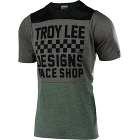 Troy Lee Designs Skyline SS Jersey Men checkers/camo/heather taupe